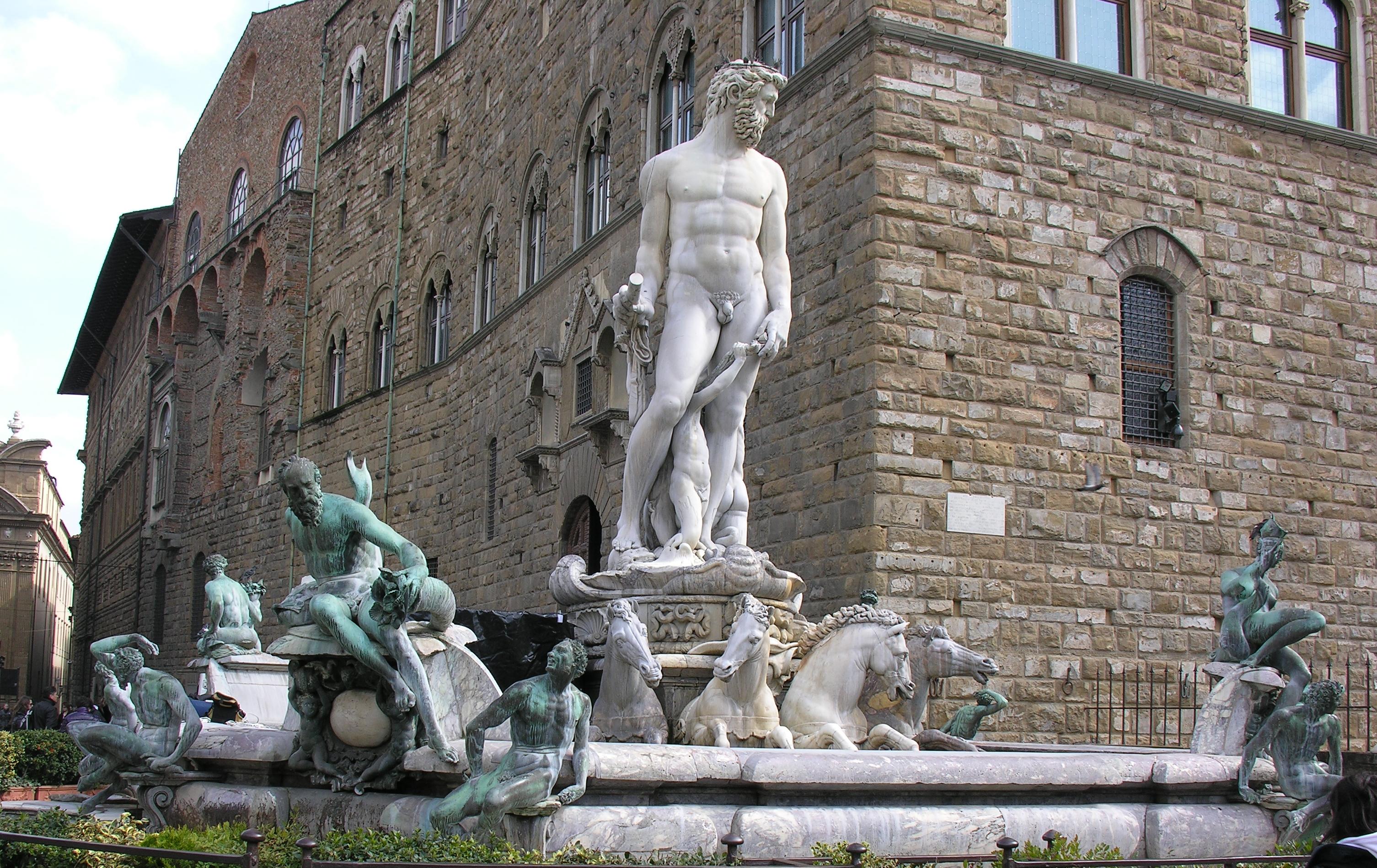 'Fontana del Nettuno', 1560-1565, di Bartolomeo Ammannati